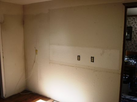 Building the kitchen for Bare kitchen wall ideas